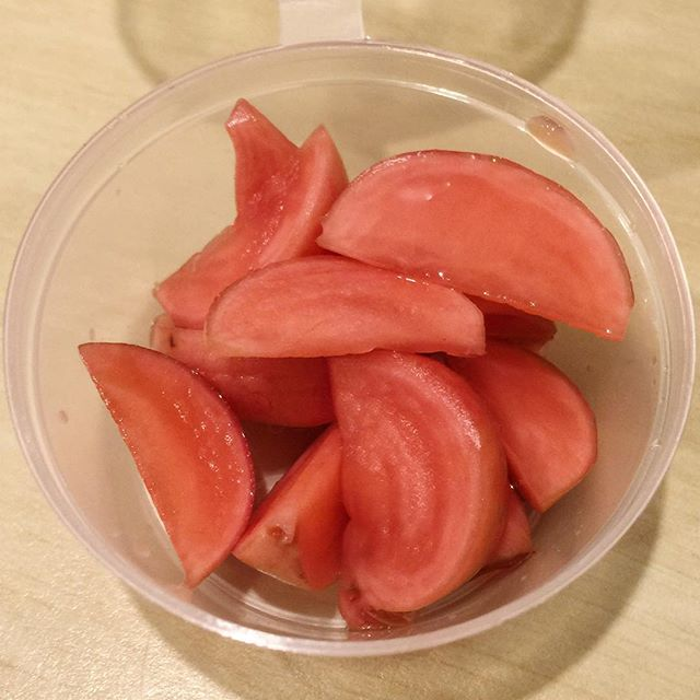 Chinese pickled radish. All. Day.